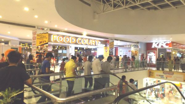 Food Court at Elante