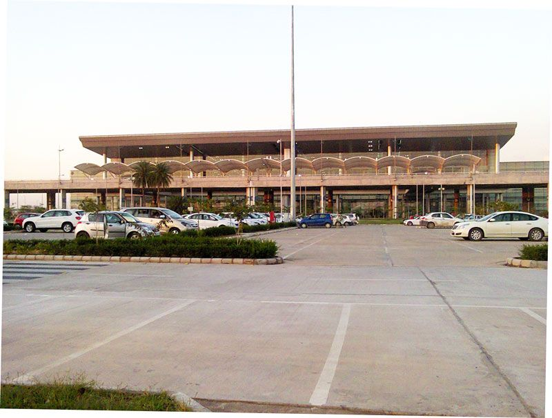 Chandigarh international airport terminal