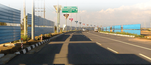 mohali international airport sign